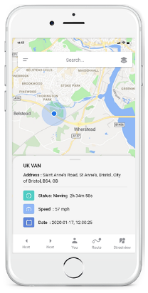 GPSLive Mobilná GPS Aplikácia