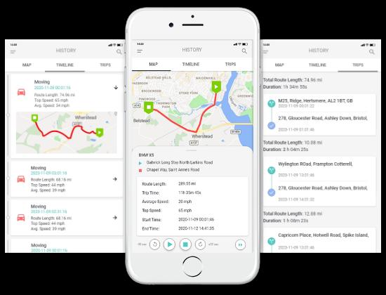 Mobilná GPS Aplikácia